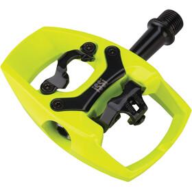 iSSi Flip II Pedal hi-vis yellow